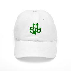St. Patrick's Day Jolly Roger Baseball Cap