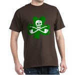 Lucky Leprechaun Pirate Dark T-Shirt