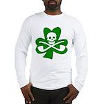 Lucky Leprechaun Pirate Long Sleeve T-Shirt