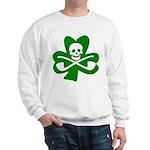 St. Patrick's Day Jolly Roger Sweatshirt