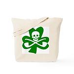 St. Patrick's Day Jolly Roger Tote Bag