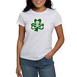 St. Patrick's Day Jolly Roger Women's T-Shirt