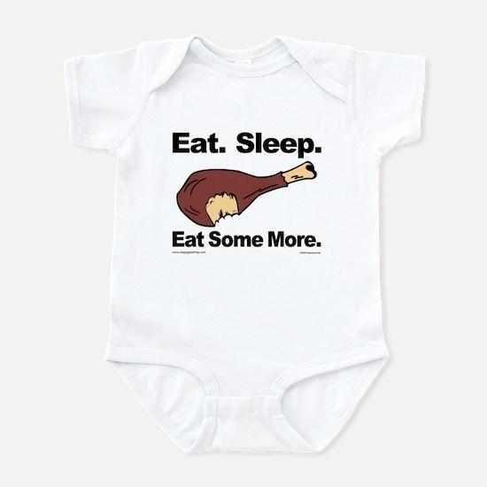 Eat. Sleep. Eat Some More. Infant Bodysuit