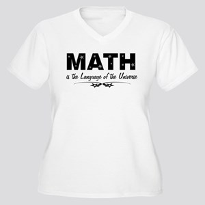 Math Language Of Universe Plus Size T-Shirt