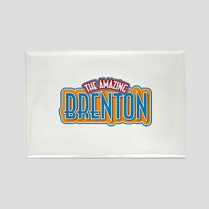 The Amazing Brenton Rectangle Magnet