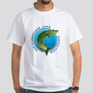 The Llangorse Lake Expedition White T-Shirt