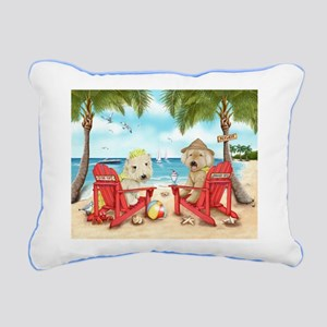 Loving Key West Rectangular Canvas Pillow