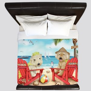 Loving Key West King Duvet