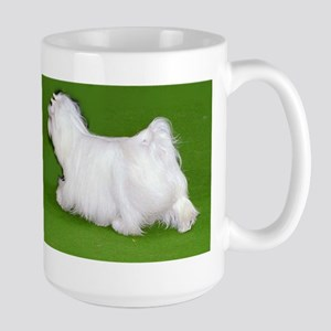 coton de tulear walking Mugs