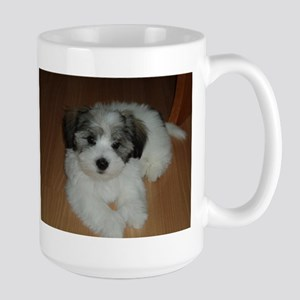 coton de tulear puppy laying Mugs