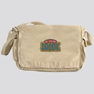 The Amazing Brodie Messenger Bag