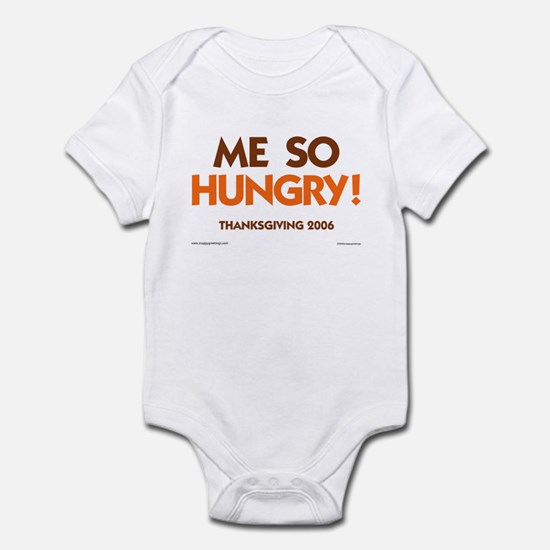 Me So Hungry Infant Bodysuit