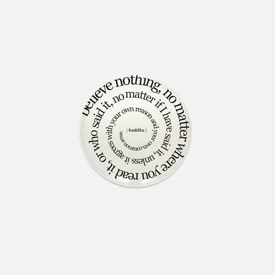 buddha quote Mini Button