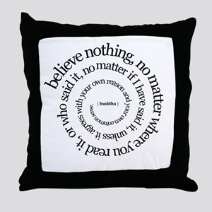 buddha quote Throw Pillow