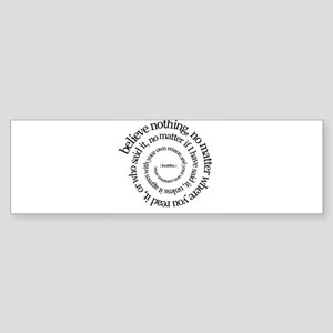 buddha quote Bumper Sticker