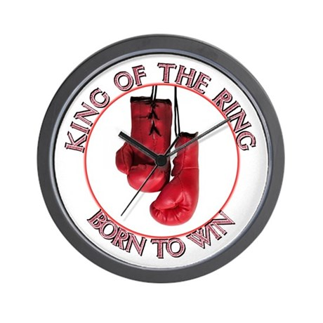 ...King Of The Ring... Wall Clock