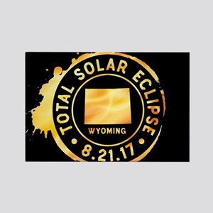 Eclipse Wyoming Rectangle Magnet