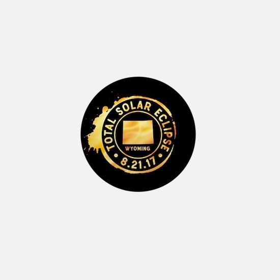 Eclipse Wyoming Mini Button