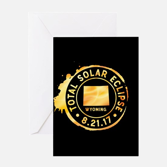 Eclipse Wyoming Greeting Card