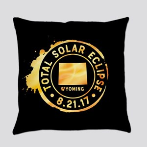 Eclipse Wyoming Everyday Pillow
