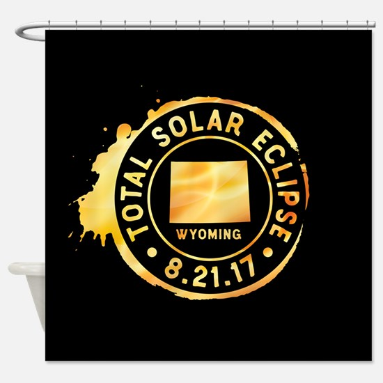 Eclipse Wyoming Shower Curtain