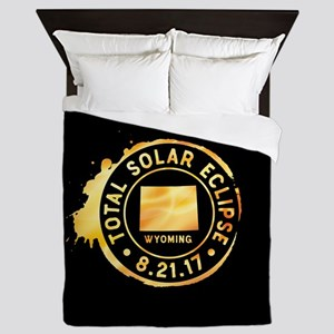 Eclipse Wyoming Queen Duvet