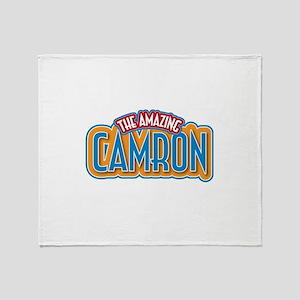 The Amazing Camron Throw Blanket
