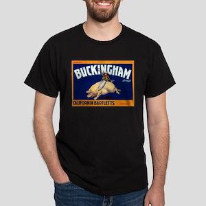 Antique 1920 Buckingham Pig Fruit Label T-Shirt
