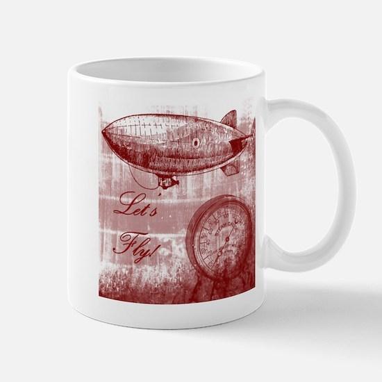 Steampunk Airship Mug