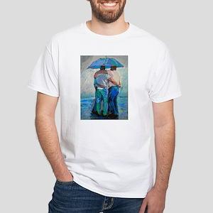 Rain Bears White T-Shirt
