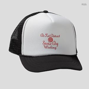 SERVICE DOG WORK Kids Trucker hat