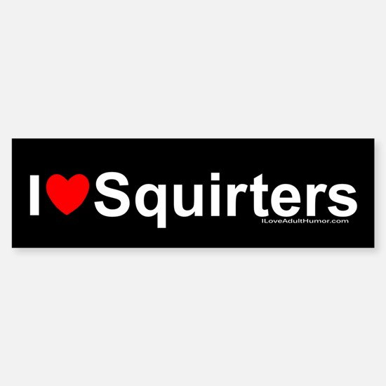 Squirters Sticker (Bumper)