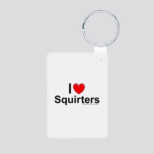Squirters Aluminum Photo Keychain