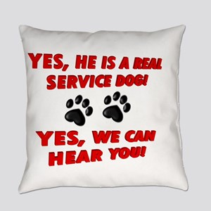 SERVICE DOG WORK Everyday Pillow
