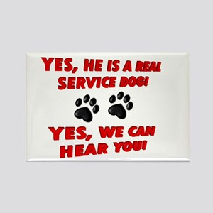SERVICE DOG WORK Magnets