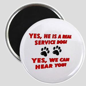 SERVICE DOG WORK Magnets