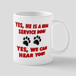 SERVICE DOG WORK Mugs