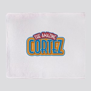 The Amazing Cortez Throw Blanket