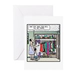 One day,Son Greeting Cards (Pk of 20)