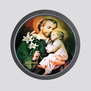 St Joseph Guardian of Jesus Wall Clock