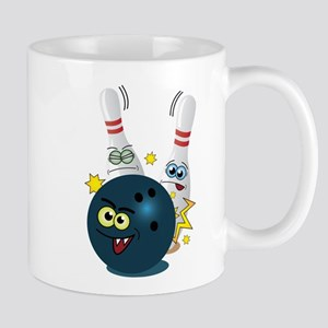 Bowling Ball and Pins Mug