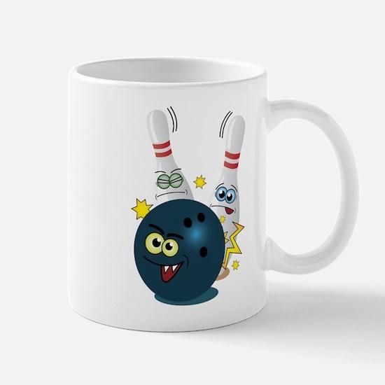 Bowling Ball and Pins Mug