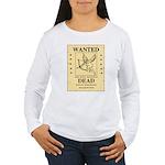 Wanted Cupid Women's Long Sleeve T-Shirt