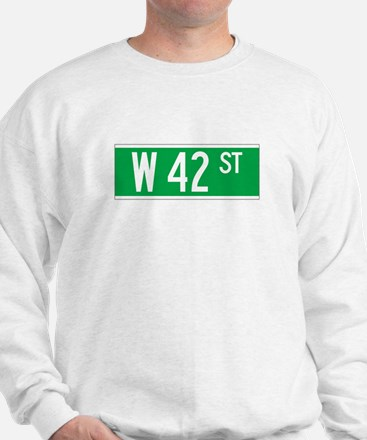 W 42 St., New York - USA Sweatshirt