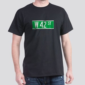 W 42 St., New York - USA Dark T-Shirt