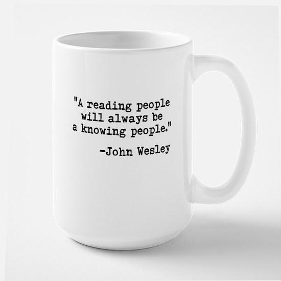 Wesley's Reading People Mug
