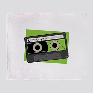 Mix Tape Throw Blanket