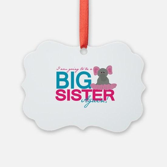 Big Sister Again Ornament