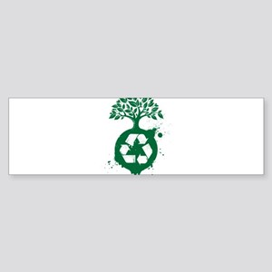 green recycle Bumper Sticker