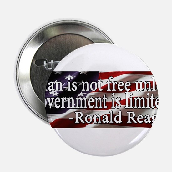Man is not free unless Government is limited 2.25""